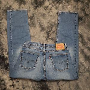 Levi's 505 Regular Fit Blue Jeans